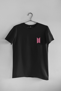 BTS LOGO POCKET DESIGN - HALF-SLEEVE T-SHIRTS