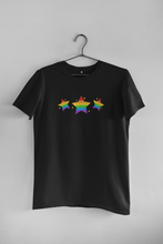 Load image into Gallery viewer, PRIDE STARS HALF-SLEEVE T-SHIRT. - ANTHERR