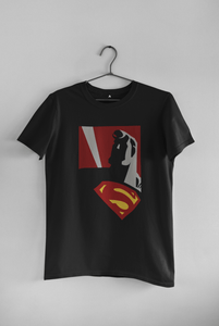 """SUPERMAN"" - MAN OF STEEL : HALF-SLEEVE T-SHIRTS - ANTHERR"