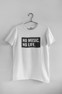 """ NO MUSIC, NO LIFE "" - HALF-SLEEVE T-SHIRT'S - ANTHERR"