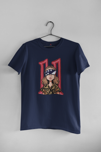 """STRANGER THINGS"" - ELEVEN : Half-sleeve T-Shirts"