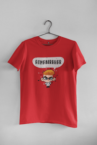 Atmanirbhar: HALF SLEEVE T-SHIRT - ANTHERR