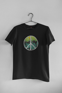 NATURAL PEACE : HALF SLEEVE T-SHIRT - ANTHERR