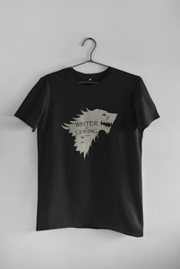 "WINTER IS COMING -GAME OF THRONES"" - HALF SLEEVE T-SHIRTS - ANTHERR"
