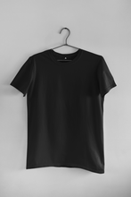 Load image into Gallery viewer, BASIC BLACK HALF-SLEEVE T-SHIRTS