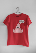 Load image into Gallery viewer, CHILL OUT : PATRICK STAR (SPONGEBOB) - HALF-SLEEVE T-SHIRTS - ANTHERR