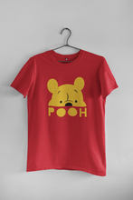 "Load image into Gallery viewer, ""POOH"" - HALF-SLEEVE WOMEN T-SHIRTS - ANTHERR"