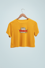 "Load image into Gallery viewer, "" KISS ME "" - HALF-SLEEVE CROP TOPS - ANTHERR"