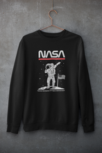Load image into Gallery viewer, NASA Astronaut Dab : ALIEN & SPACE- Winter Sweatshirts