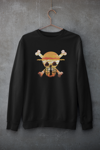 Straw Hat Pirate With Monkey D Luffy- One Piece - Winter Sweatshirts