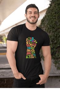 INFINITY GAUNTLET :  HALF-SLEEVE T-SHIRTS - ANTHERR