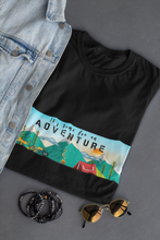 "Load image into Gallery viewer, "" TIME FOR AN ADVENTURE "" HALF-SLEEVE T-SHIRT - ANTHERR"