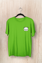 "Load image into Gallery viewer, "" CUTE PANDA "" - HALF-SLEEVE POCKET DESIGN T-SHIRTS - ANTHERR"