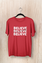"Load image into Gallery viewer, "" BELIEVE IN YOURSELF "" - UNISEX HALF-SLEEVE T-SHIRTS - ANTHERR"