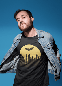 """ BATMAN BEGINS "" HALF-SLEEVE T-SHIRTS - ANTHERR"
