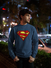 Load image into Gallery viewer, Superman Emblem - Winter Sweatshirts