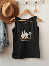 "Load image into Gallery viewer, ""WANDERLUST""- SLEEVELESS T-SHIRTS - ANTHERR"