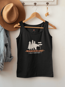 """WANDERLUST""- SLEEVELESS T-SHIRTS - ANTHERR"