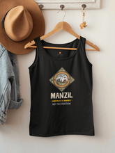 "Load image into Gallery viewer, ""MANZIL""- SLEEVELESS T-SHIRTS - ANTHERR"