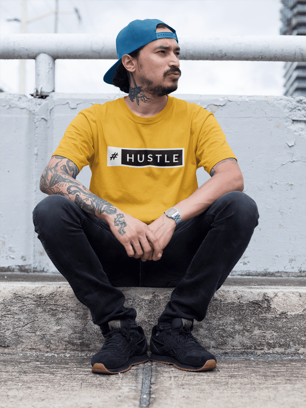 HUSTLE - HALF-SLEEVE T-SHIRTS - ANTHERR