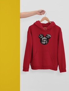 """ You can do it : MICKY MOUSE "" - WINTER HOODIES"