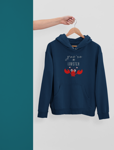 You Are My Lobster: Friends- Winter Couple Hoodies.