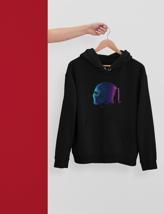 Deadpool Abstract - Winter Hoodies