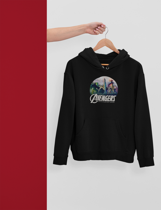 Avengers - Earth's Mightiest Heroes - Half Sleeves T-Shirts - Winter Hoodies