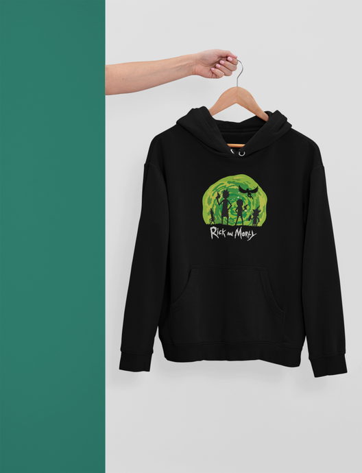 Rick & Morty - Winter Hoodies