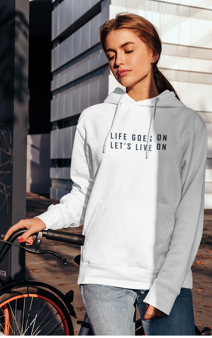 Life Goes On, Let's Live On : BTS - WINTER HOODIES