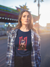 "Load image into Gallery viewer, ""STRANGER THINGS"" - ELEVEN : Half-sleeve T-Shirts"