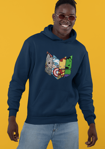 """ AVENGER'S SQUAD "" - WINTER HOODIES - ANTHERR"