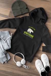""" GO EXPLORE OUTSIDE "" - WINTER HOODIES"