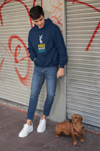 """DOGS BEFORE DUDES ""- WINTER HOODIES - ANTHERR"