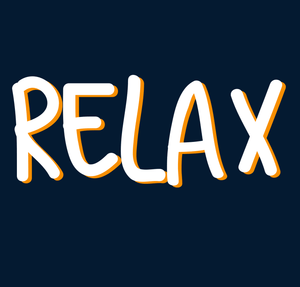 """ RELAX "" - HALF SLEEVE CROP TOP (NAVY BLUE) - antherr"
