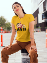 Load image into Gallery viewer, LAZY AF : SHINCHAN - HALF-SLEEVE T-SHIRTS