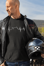 "Load image into Gallery viewer, "" HEARTBEAT STRIKES ON BIKING "" HALF-SLEEVE T-SHIRTS - ANTHERR"