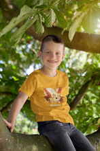 "Load image into Gallery viewer, "" LITTLE  TIGER "" KIDS HALF-SLEEVE T-SHIRT - ANTHERR"