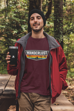 "Load image into Gallery viewer, ""WANDERLUST"" - HALF-SLEEVE T-SHIRT'S - ANTHERR"