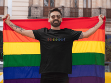 "Load image into Gallery viewer, ""QUEERAF "" HALF-SLEEVE T-SHIRT. - ANTHERR"
