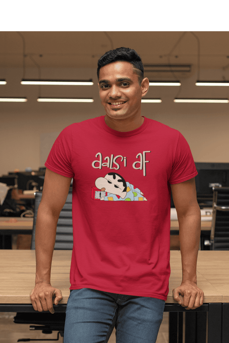 AALSI AF  : SHINCHAN - HALF-SLEEVE T-SHIRTS - ANTHERR
