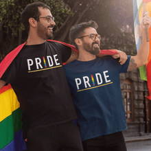 "Load image into Gallery viewer, "" PRIDE "" HALF-SLEEVE T-SHIRT. - ANTHERR"