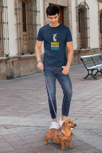 "Load image into Gallery viewer, ""DOGS BEFORE DUDES "" - HALF-SLEEVE T-SHIRTS - ANTHERR"