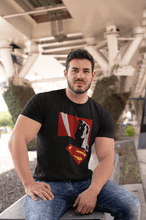 "Load image into Gallery viewer, ""SUPERMAN"" - MAN OF STEEL : HALF-SLEEVE T-SHIRTS - ANTHERR"