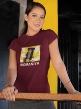"Load image into Gallery viewer, "" WOMANIYA "" - HALF-SLEEVE T-SHIRT - ANTHERR"