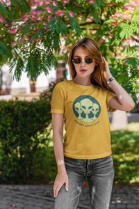HUMANS AREN'T REAL : ALIEN & SPACE- HALF-SLEEVE T-SHIRTS