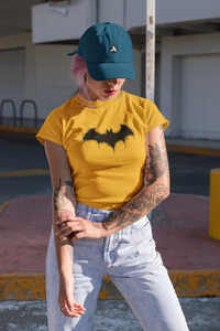 """ BATMAN"" HALF SLEEVE T-SHIRT - ANTHERR"