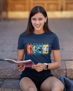 HOGWART'S HOUSE : HARRY POTTER - HALF-SLEEVE T-SHIRTS
