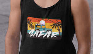 """ SAFAR"" - SLEEVELESS T-SHIRTS - ANTHERR"