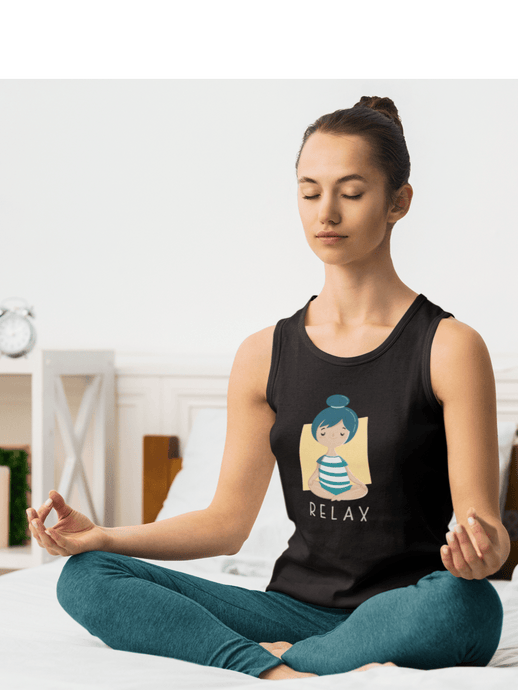 RELAX : Yoga Tank Tops - ANTHERR